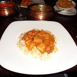 My meal - Chicken tikka bhuna