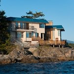 Guest rooms from Salish Sea
