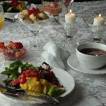 You will be served a full hot wholesome breakfast with a touch of indulgence