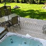 Your own backyard Hot Tub