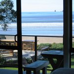 View from Beachfront Unit - Beachfront Resort, Whitianga, The Coromandel, NZ