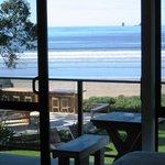 View from Beachfront Unit - Beachfront Resort, Whitianga, The Coromandel, NZ
