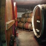 Barrels in our Cellar at Wagner Vineyards
