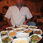 Mustafa and his mezes!  Scrumptious