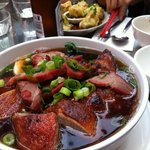 Duck broth noodle