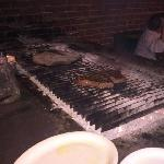 Cooked right in the restaurant on a charcole grill