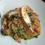 Moreton Bay bug risotto