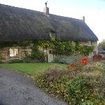 Aynho - One of the many Thatched Cottage