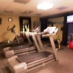 workout-sorry for fuzzy photo