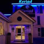 Entrée Kyriad hotel montauban