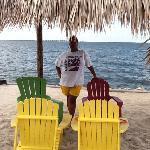 man made beach @ sailport suite in Tampa, Fl
