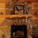 Fireplace at Windrider
