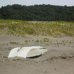 I fixed this boat for the locals. They cross the MBashee river to access the two nature reserves