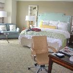 Chambre et sofa