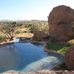 The Pool at the Bushmans Rest