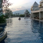 Pool in early evening Centara Duanwang
