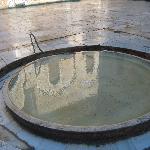 a calming fountain