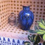 Moroccan Style in the courtyard