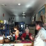 At Sugar Apple Deli Cafe - vegan!