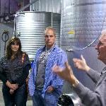 Wine Tour guests tour Ravens Glenn Winery