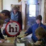 B&B Tour: Hand Hammering Art at Wendell August Forge