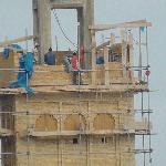 Nochmal der Minarettbau