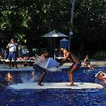 game in the pool