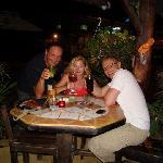 Bei Sabine  im Restaurant Flip Flop