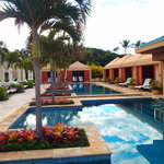 Serenity pool cabanas