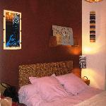 """The """"Jazz"""" bedroom"""