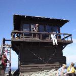 Mt. Fremont lookout at Mt. Rainier
