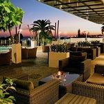 Crowne Plaza Limassol hotel terrace