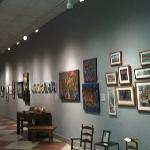 adjoining art gallery
