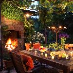 Evening in The Patio