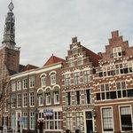 alte Bürgerhäuser von Leiden