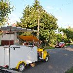authentiek Hongaars ijscowagentje