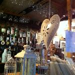 The bar at the Old Cellars.