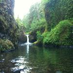Punchbowl Falls at Eagle Creek