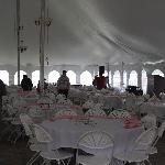 eys a breast cancer event in tent