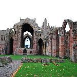 Melrose Abbey - enchanting!