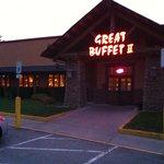 Alles bestens hier am Buffet.