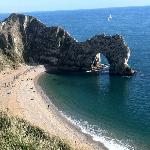 durdle door , near by