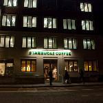 Starbucks from Tavistock Gardens