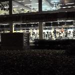 Fitnesscenter gegenüber