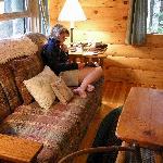 """Interior of """"Dream"""" cottage"""