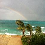 Rainbow View From Room