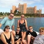 the whole gang with Atlantis behind us