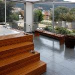 Jacuzzi area Club House Bogota