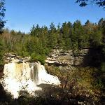 Beautiful Black Water Falls