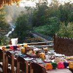 Breakfast on your veranda